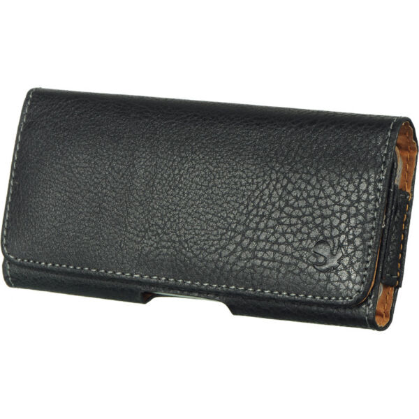 HORIZONTAL Leather Pouch Holder Belt Clip Holster Case Apple iPhone 7 8 SE X XS $5.95