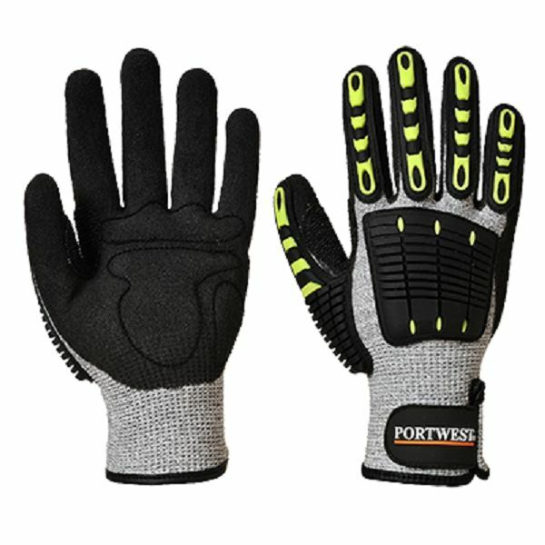 PORTWEST ANTI IMPACT CUT RESISTANT GLOVES MAXIMUM PROTECTION SIZES S-3XL A722