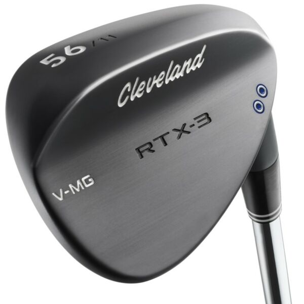 NEW 2017 CLEVELAND GOLF RTX-3 WEDGE BLACK - 2 DOT - CHOOSE YOUR LOFT - RTX 3