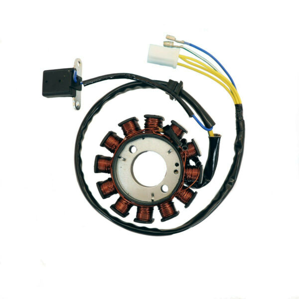 DC STATOR WITH 12 COILS FOR SOME SCOOTERS WITH 150cc 4 STROKE GY6 MOTORS $929.95