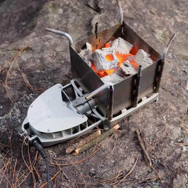 Portable outdoor Wood Stove Backpacking Burning Camping Burner BRS-116