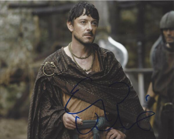 ACTOR ENZO CILENTI SIGNED GAME OF THRONES 8X10 PHOTO WCOA YEZZAN ZO QAGGAZ