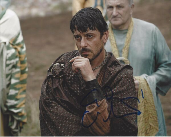 ACTOR ENZO CILENTI SIGNED GAME OF THRONES 8X10 PHOTO C WCOA YEZZAN ZO QAGGAZ