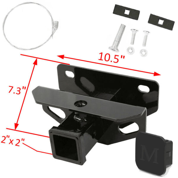 Towing Trailer Hitch Receiver for 2003 2020 Dodge Ram 1500 2500 3500 Class 3 $42.75