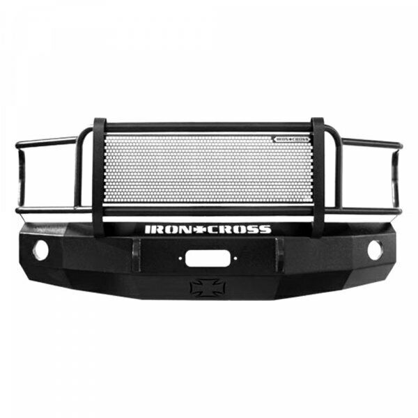 Iron Cross Winch Front Bumper With Grille Gaurd 81-87 Chevy  GMC Pickup Truck