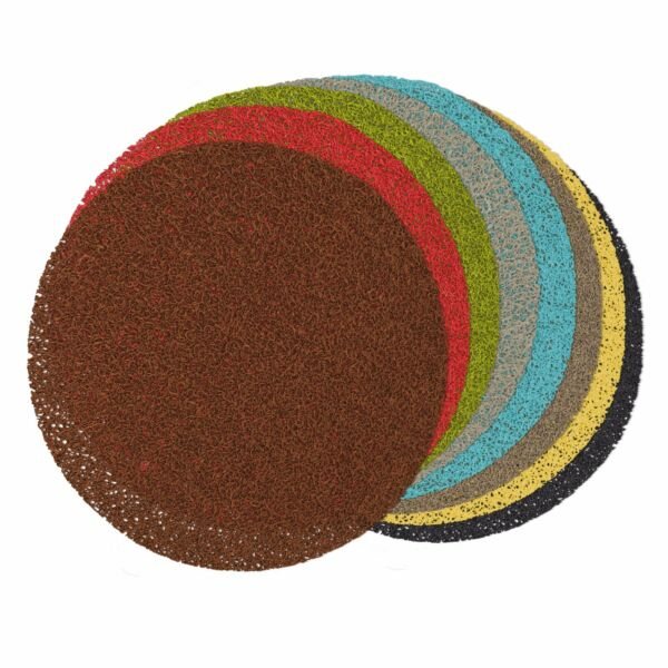 New Round PVC Gel Placemats 15