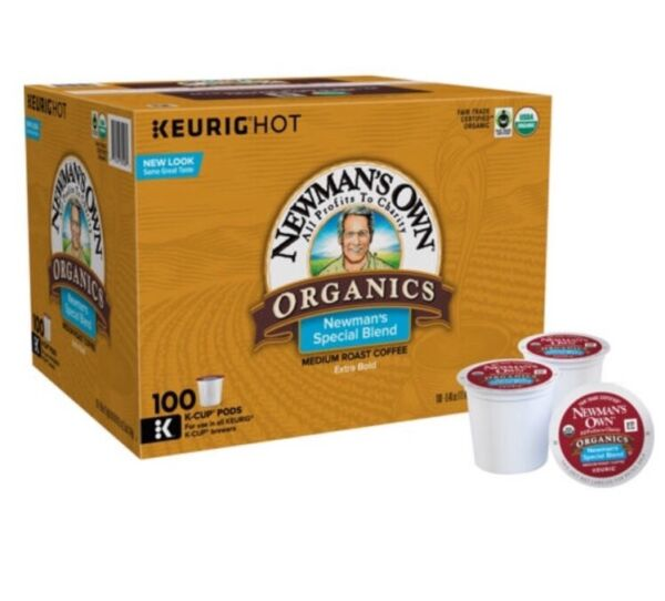 Newman's Own Organics - Special Blend Coffee - Keurig K-Cups - 100-Count
