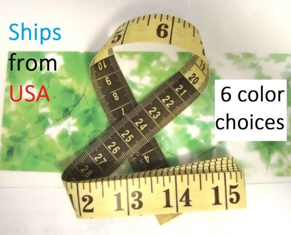 Tailor Diet Sewing Measuring Tape Measure Soft Ruler 3/4
