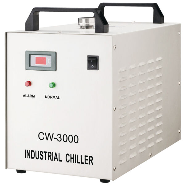 AC220V 50Hz CW-3000AG Industrial Water Chiller for 60W80W CO2 Glass Laser Tube