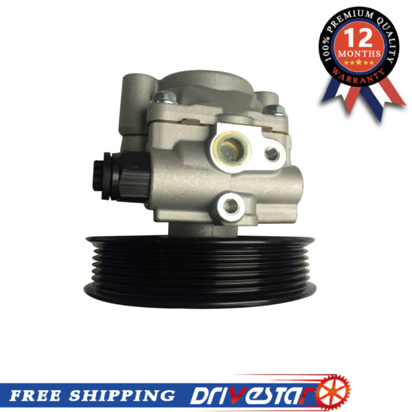 Completely New Power Steering Pump for 2001-07 Toyota Sequoia Tundra with Pulley