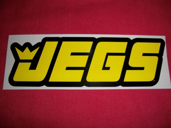 Jegs Racing amp; Performance Parts Sticker Decal $1.25