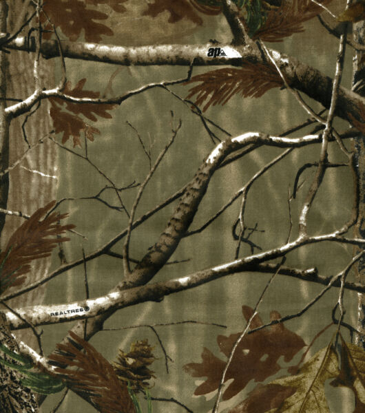 Lightweight Realtree AP Camo Fabric Cut to Order