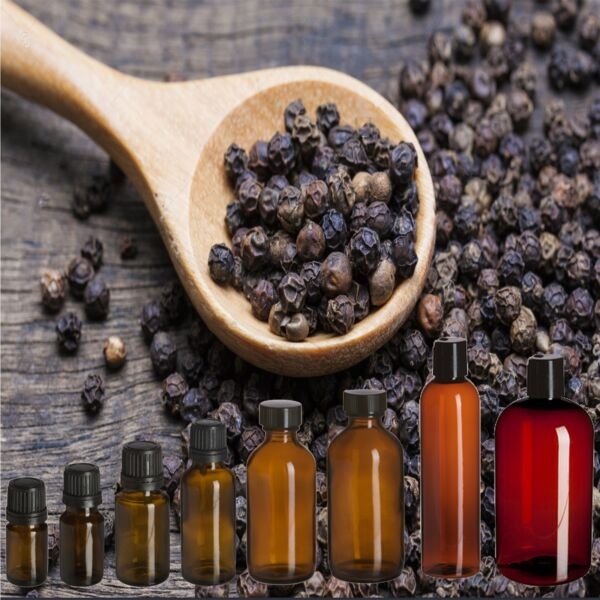 Black Pepper Essential Oil 100% Pure and Natural Free Shipping US Seller