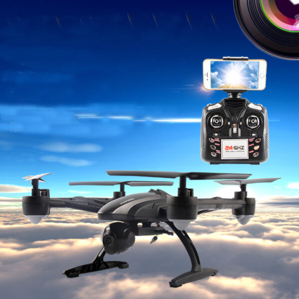 JD509 Wifi 2.4Ghz 4CH RC 6-Axis Quadcopter Drone with 2MP HD Camera RTF UFO 2016