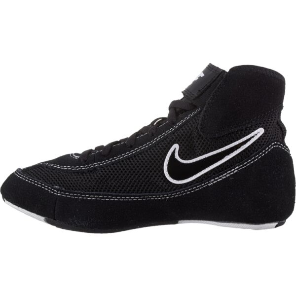 Nike  366684 001 Black White  Speed Sweep VII Wrestling Shoes size 2,5 Y
