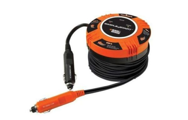 Black amp; Decker BBC2CB Simple Start Vehicle to Vehicle Battery Booster car jumper $15.99