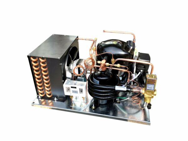 Combo AirWater Cooled QT AJA7494ZXD Condensing Unit 1-14HP Mid Temp R404A 220V