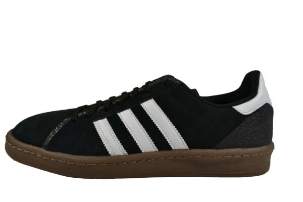 Adidas CAMPUS Black White Gum 5 Suede Discounted Skateboarding (249) Men's Shoes