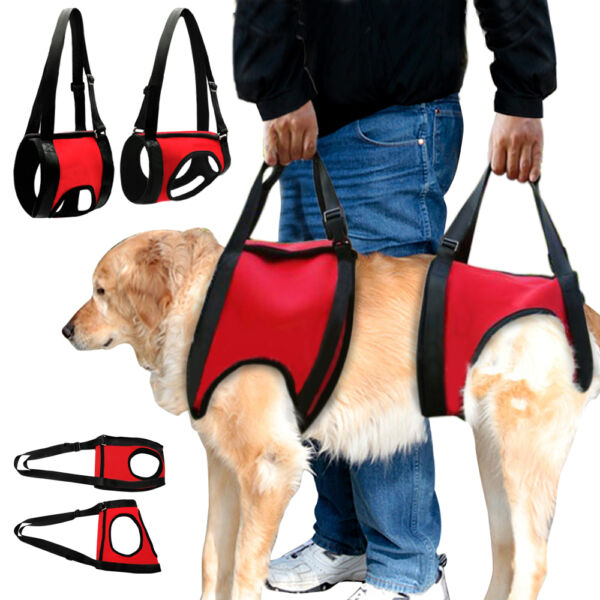 Soft Full Body Dog Lift Support Harness Injury Back Hip Assist Pet Dog Carriers $49.99