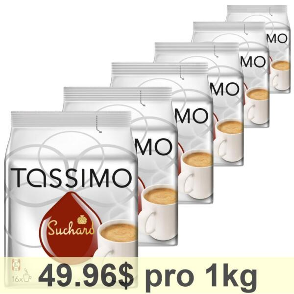 Tassimo Suchard Hot Chocolate 6 x 16 T-Discs
