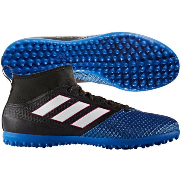 adidas Ace 17.3 Primemesh TF Turf 2017 Soccer Cleats Shoes Black  Blue  White