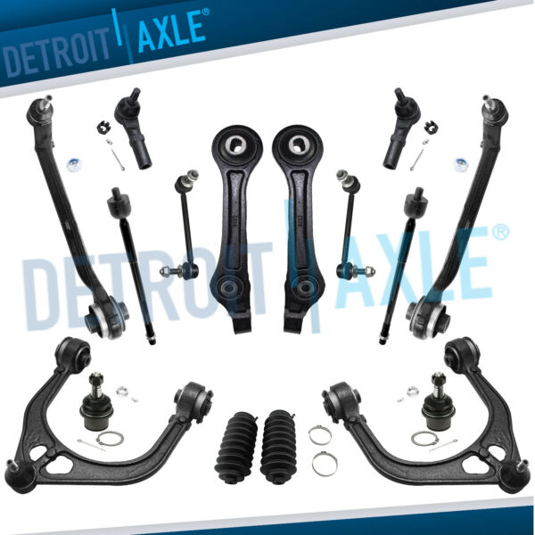 front upper & lower control arm kit for 2011 - 2016 dodge charger / challenger