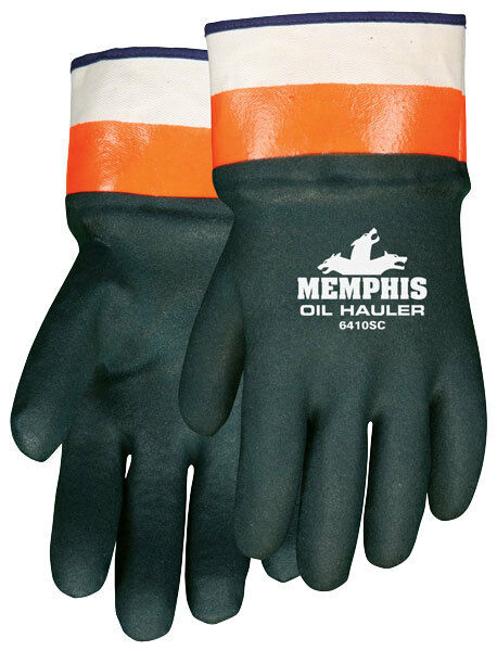 Mcr Safety  Chemical Resistant Gloves,6410SC 1 Pair