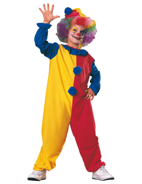 kids clown costumes cosplay costumes for boys Halloween costumes for kids $12.99