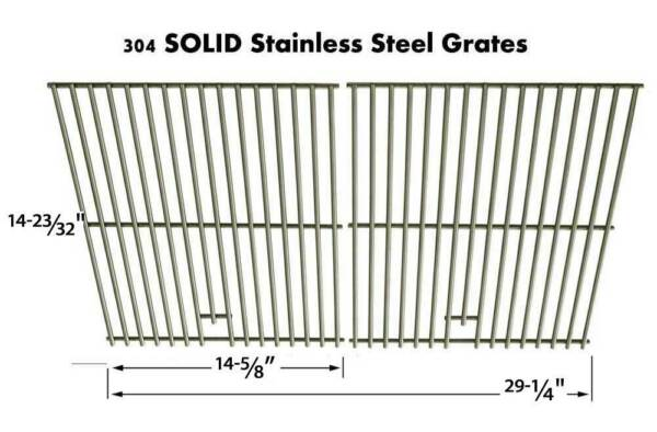 Charbroil 4639122 4639215 4639218 4639271 463938403 Stainless Cooking Grid