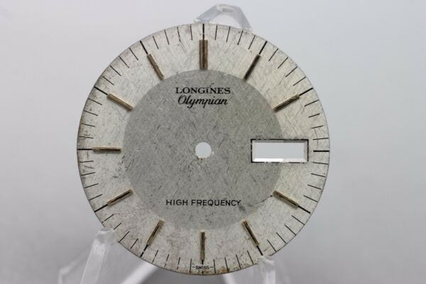 Vintage Original Longines Olympian High Frequency Wrist Watch Dial Spare Part