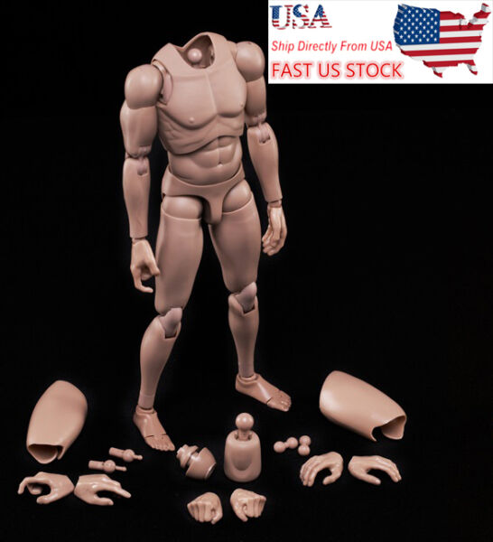 MX02-A 16 Scale Europe Skin Male Figure Body Model Toy Fit For Head with Neck