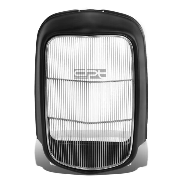 Fit 1932 Model B Bb 18 Stamped Steel Front Grille ShellStainless Grill Insert