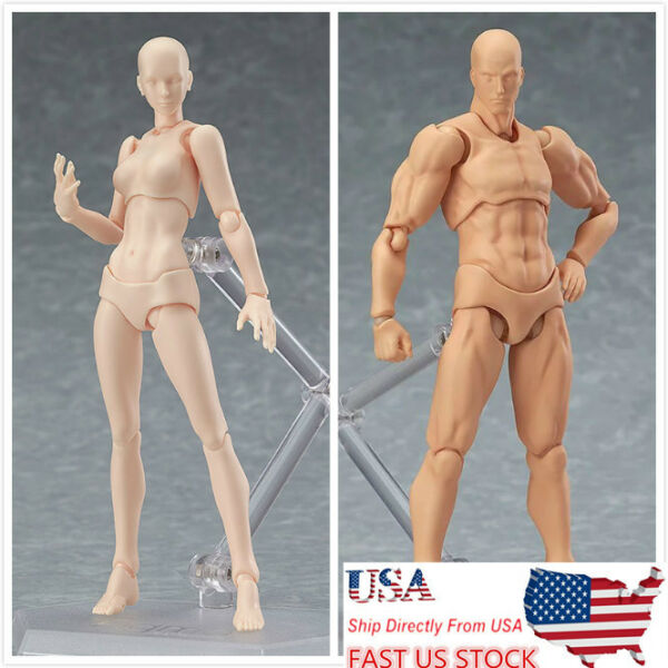 Figma Young Version 2.0 Light BODY CHAN & Kun Sets Movebale PVC Figure Model