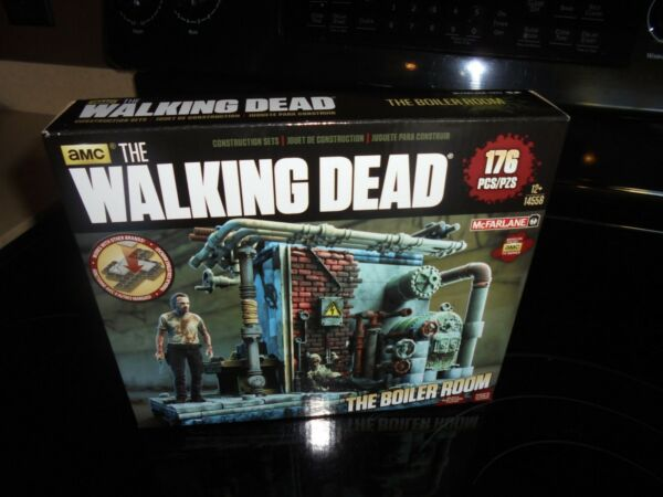 AMC MCFARLANE THE WALKING DEAD THE BOILER ROOM 176 PIECES PUZZLE NEW!!!