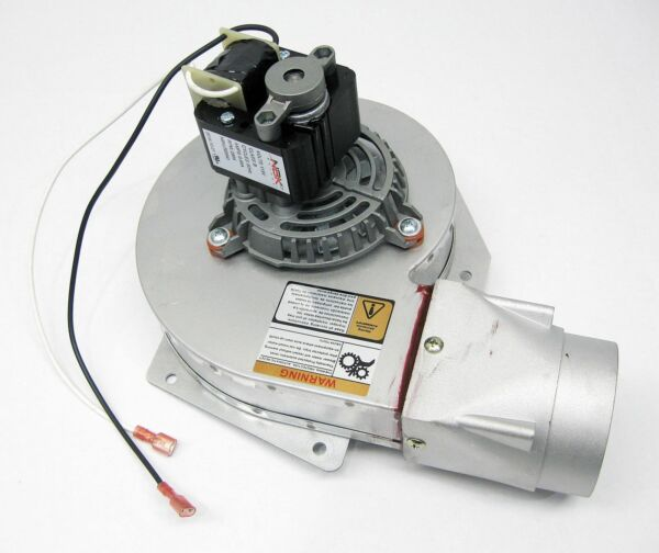 US Pellet Stove Exhaust Combustion Motor  with Gasket 80473 - 80454 SHIPS TODAY!