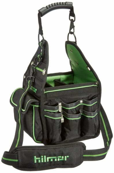 Professional Electrician Plumber Hand Tool Storage Carry Bag Tote w/ 27 Pockets