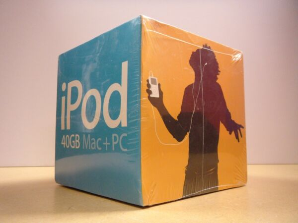 Most Colorful iPod in Original SEALED Box -Very Rare Vintage from Apple Computer