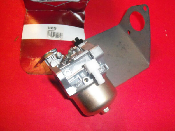 NEW BRIGGS CARBURETOR ASSY 499029 OEM FREE SHIPPING B128 $119.80