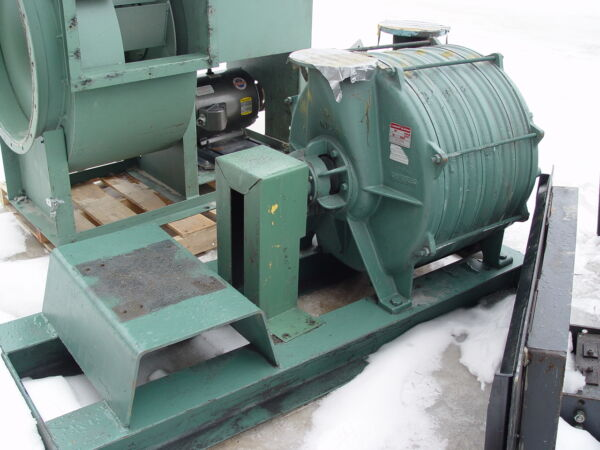 Lamson Direct Drive Skid Mounted Blower #516-0-6-AD w25 Hp Motor NEEDS COUPLING