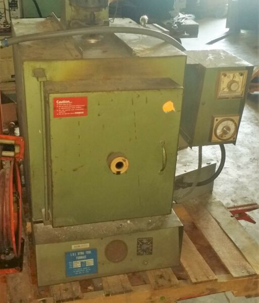 2300°F L&L Dynatrol #P918H-C24C Electric Heat Treat OvenFurnace 9