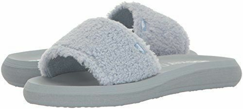 Rocket Dog Womens Single Snow Bunni Fabric Flip Flop Pale Blue SIZE 6