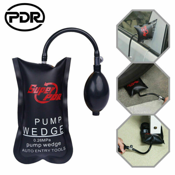Automotive Pump Wedge PDR Alignment Hand Tools Inflatable Air Shim Door Windows