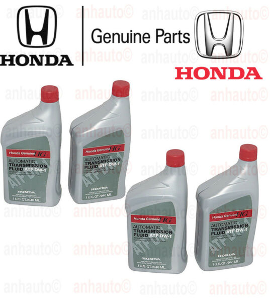 Honda Genuine 08200-9008 Automatic Transmission Fluid ATF DW-1  4-Quarts