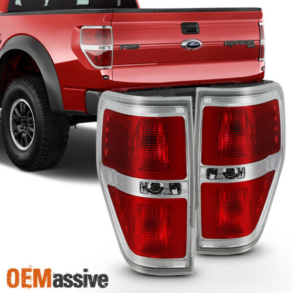 Fit 2009 2014 Ford F150 F 150 Tail Lights Lamps LR Pair 09 10 11 12 13 14 $99.99