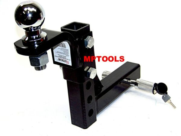 10quot; Drop Hitch Mount 2quot; Receiver Adjustable With 2quot; hitch ball and Pin Lock $64.99