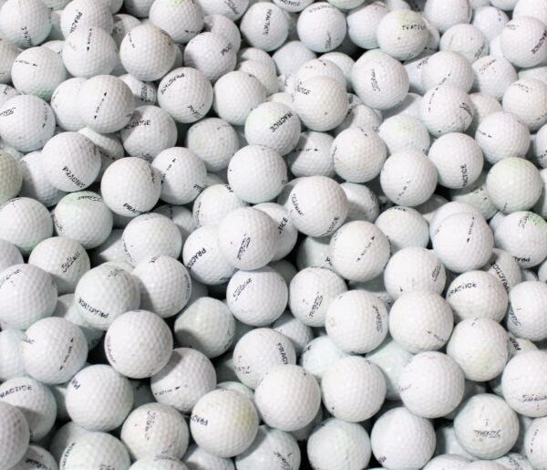 100 Titleist NXT Tour Practice AAA/AA Mix Used Golf Balls