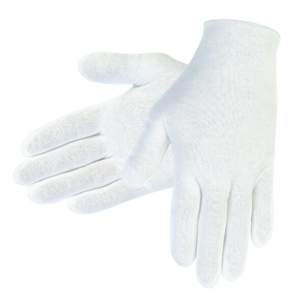 Memphis Cotton Lisle Inspection Gloves, 12 Pair
