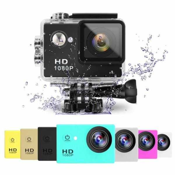 2.0 inch HD1080P Action Sport Camera 30M Waterproof US DV DVR Cam Camcorder US