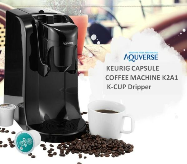 AQUVERSE KEURIG Capsule Coffee Machine K2A1 Simple & Easy K CUP Dripper