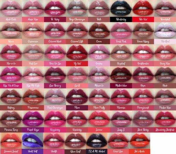 LIPSENSE SENEGENCE LIP COLOR GLOSS MOISTURIZER 5 NEW COLORS IN STOCK SM DAY SHIP
